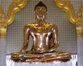 solid gold buddha