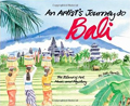 An Artist's Journey to Bali childrens book