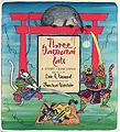 Three Samurai Cats toddlers books japan fiction