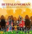 Buffalo Woman kids native americans montana