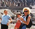 Kids at the Colosseum