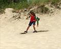 sandboarding on the oregon dunes