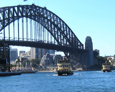 sydney bridge ferries