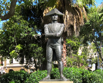 sydney statue captain bligh