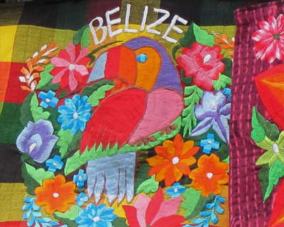 belize colorful textiles