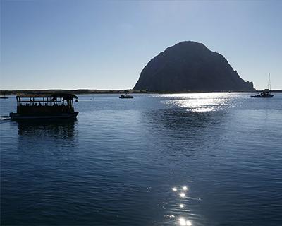 boat cruise morro rock morro bay california