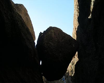 exit bear gulch cave pinnacle