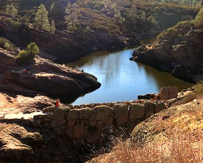 reservoir pinnacles national park