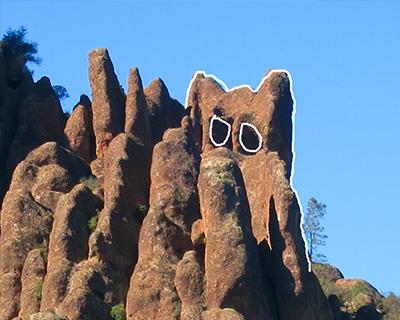 rocks look like animals pinnacles