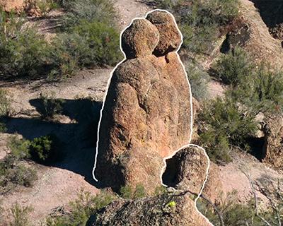 rocks look like people pinnacles