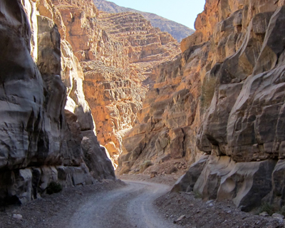 titus canyon death valley