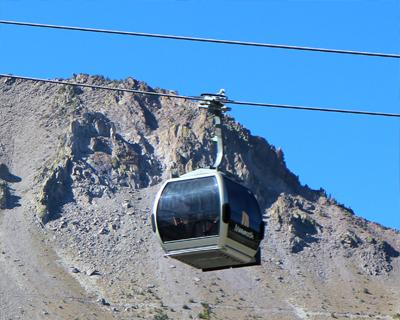 scenic gondola mammoth mountain california