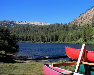 twin lakes california boating
