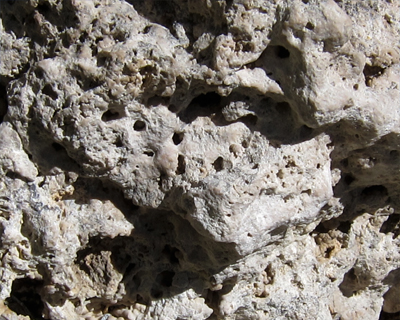 detail tufa mono lake