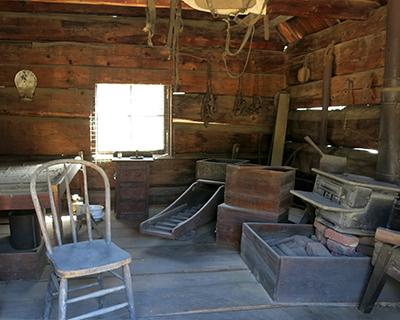 coloma miners cabin