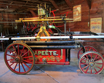 california columbia fire engine