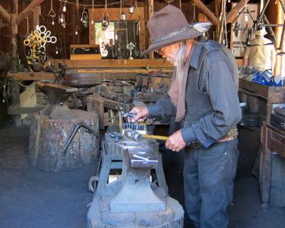 california columbia blacksmith shop