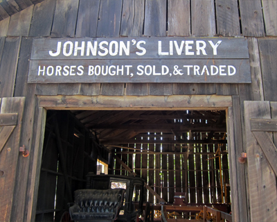 california columbia livery stable