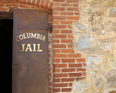 california columbia jail