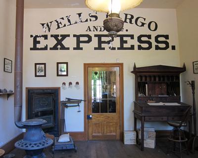 california columbia wells fargo express office