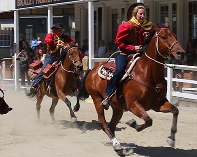 sacramento gold rush days horse race