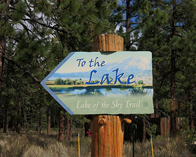 lake of the sky trail