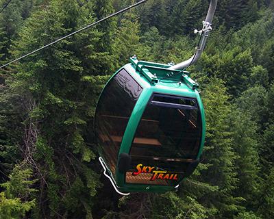 skytrail aerial tram trees of mystery