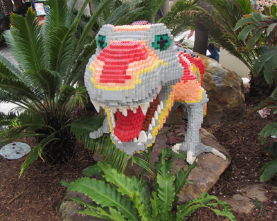 legoland california dino island t-rex