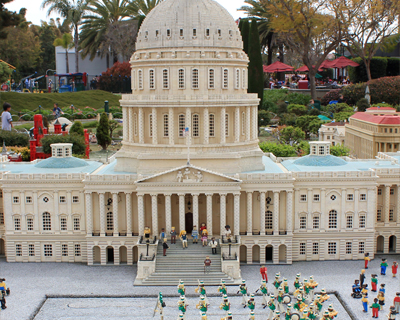 legoland california miniland usa washington dc