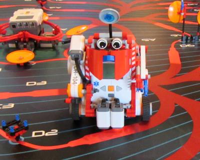 legoland california robot