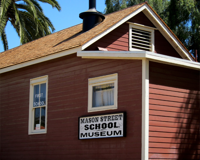 old town san diego first public school