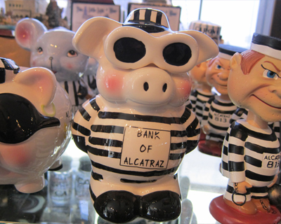 alcatraz piggy bank