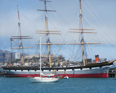 historic sailing ship san francisco
