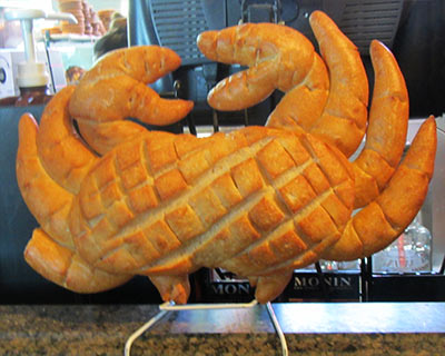 boudin bakery bread crab