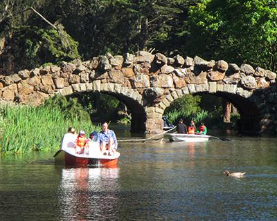 pedal boating stow lake golden gate park san francisco