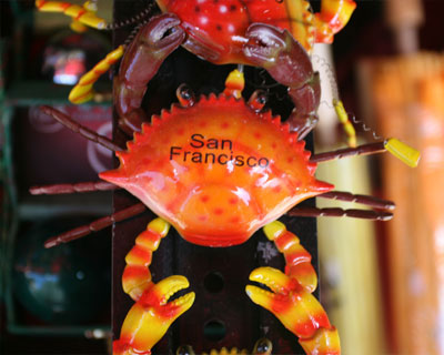 san francisco toy crabs