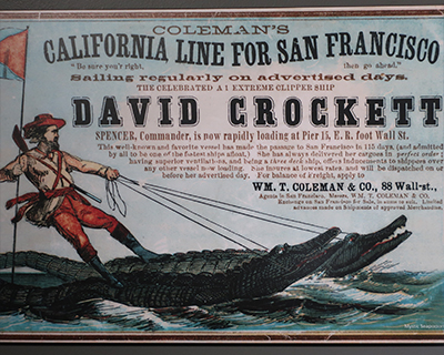 san francisco maritime national historic park visitor center clipper ship poster