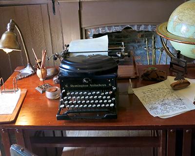 jack london study london cottage