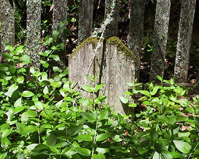 grave pioneer child jack london state park