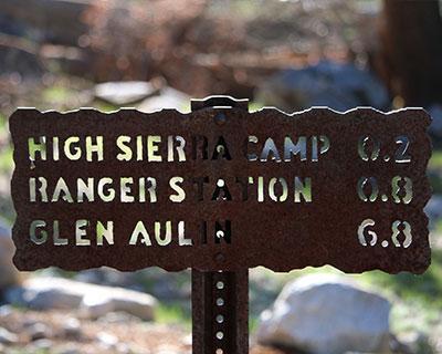 yosemite hiking trail