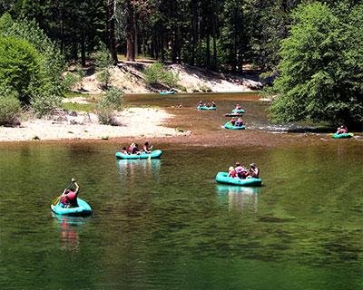 yosemite rafting merced river
