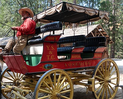 yosemite wawona stagecoach ride