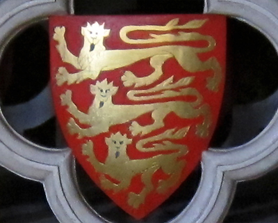royal coat arms england three lions