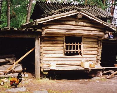 seurasaari traditional house