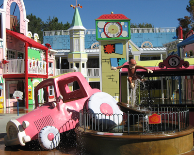 orlando universal studios florida curious george play area