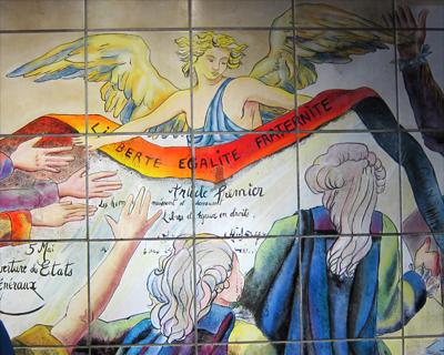 bastille metro stop paris