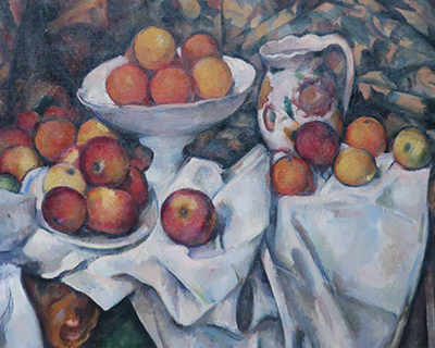 paris musee dorsay apples and oranges cezanne