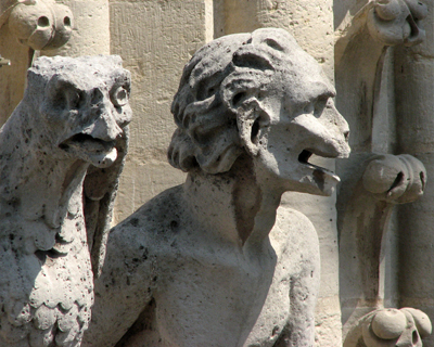 notre dame chimeras
