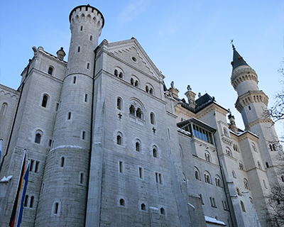 neuschwanstein castle towers