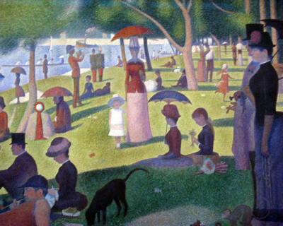 sunday afternoon island grand jatte chicago art institute